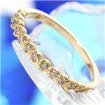 アンティーク風 K18 ダイヤエタニティリング ・ダイヤ指輪