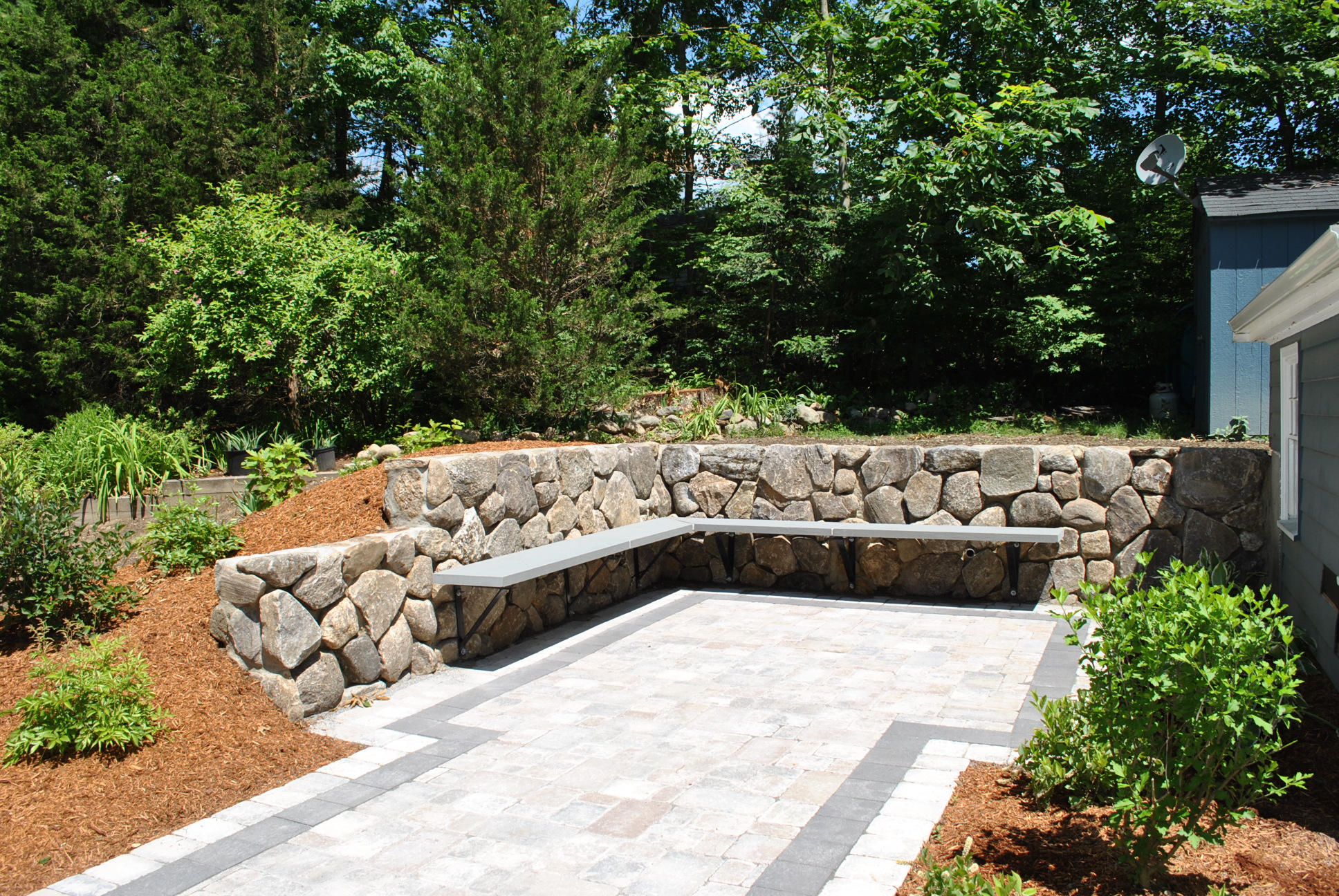 The New Stone Age Innovation In Stone Wall Construction