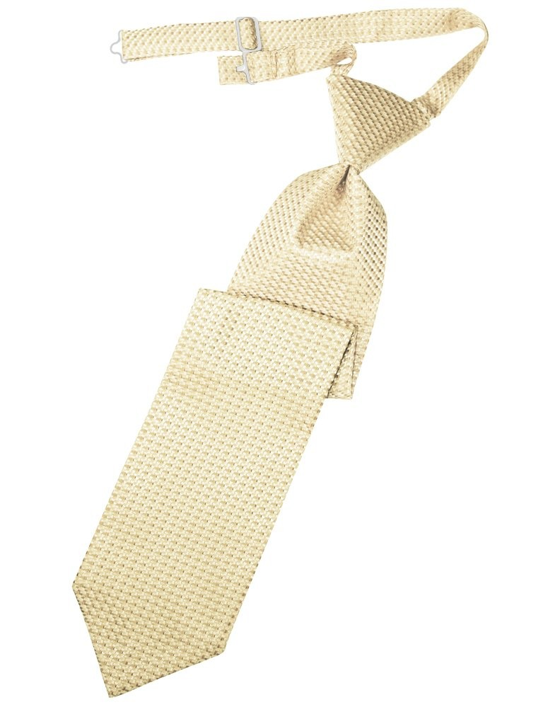 Light Champagne Venetian Long Tie