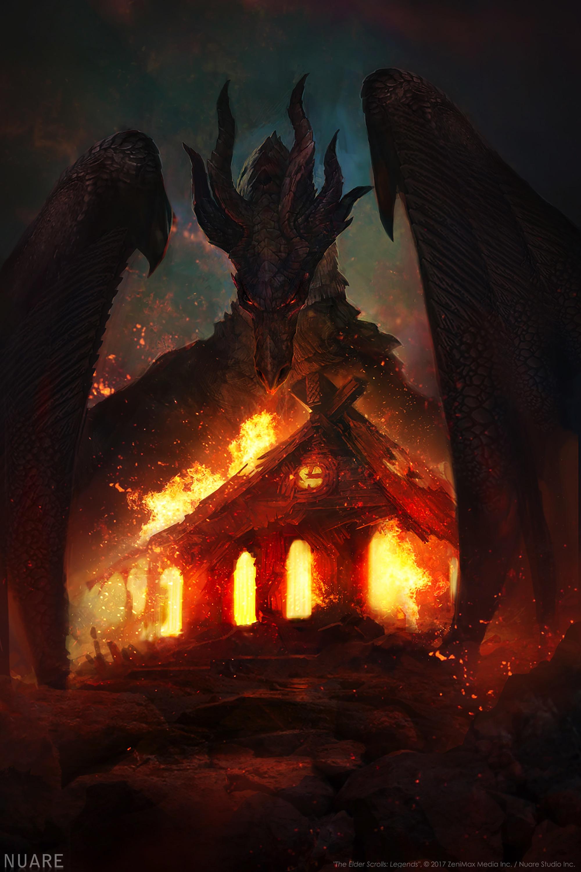 D The Elder Scrolls Legends Nuare Studio