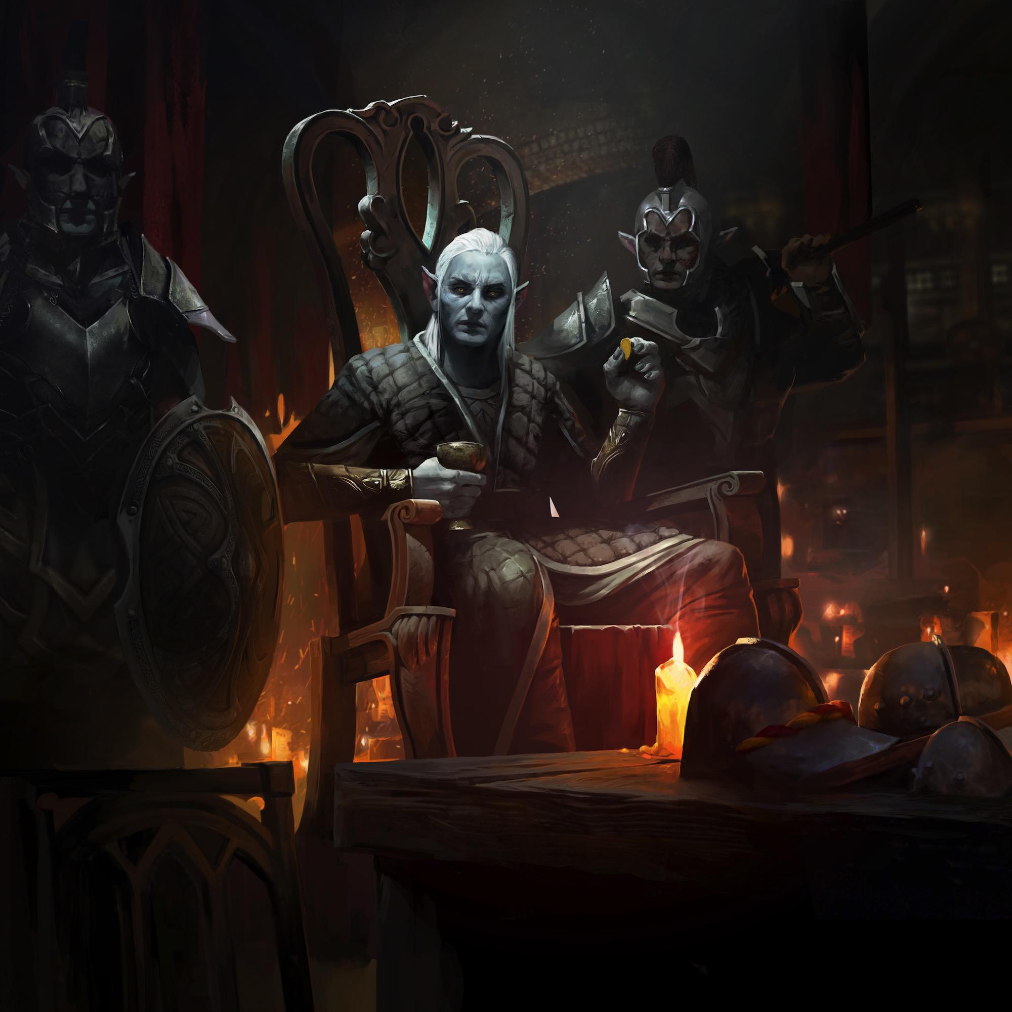 The Fall Of Troy Wallpaper The Elder Scrolls Legends Nuare Studio