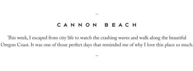Nubby Twiglet | Cannon Beach at the Oregon Coast