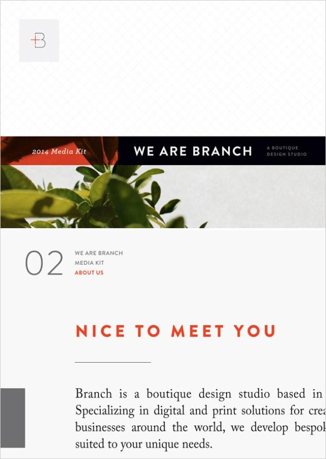 Branch | Media Kits
