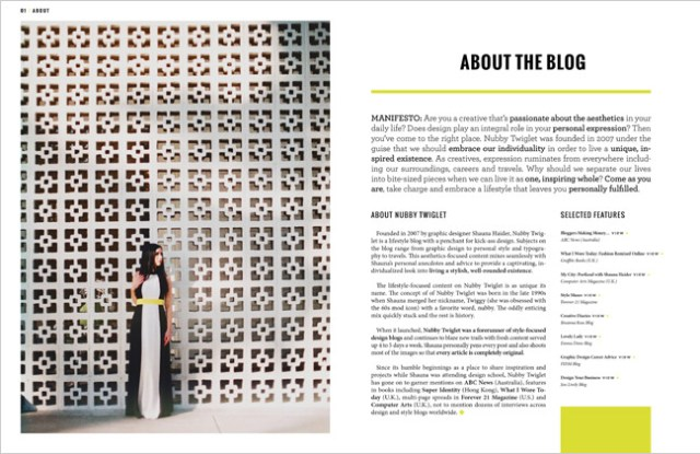 Nubby Twiglet | Shauna Haider Media Kit