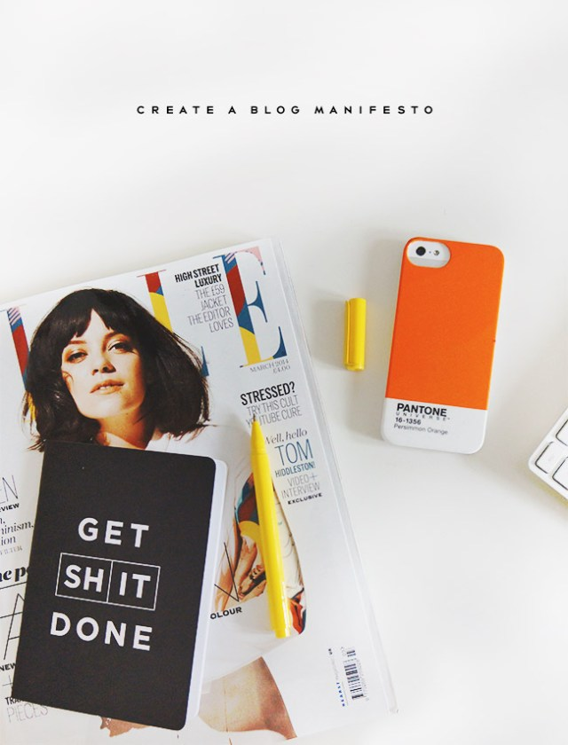 Nubby Twiglet | Define What Your Blog Stands For. Create A Manifesto!