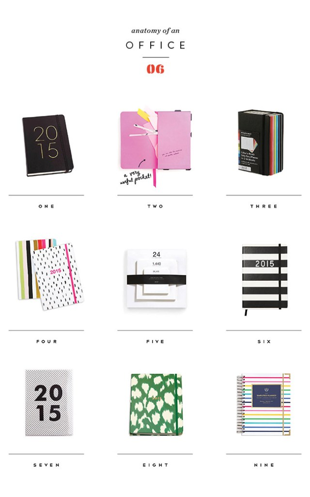 Nubby Twiglet | Anatomy Of An Office #6: The 2015 Day Planner Roundup