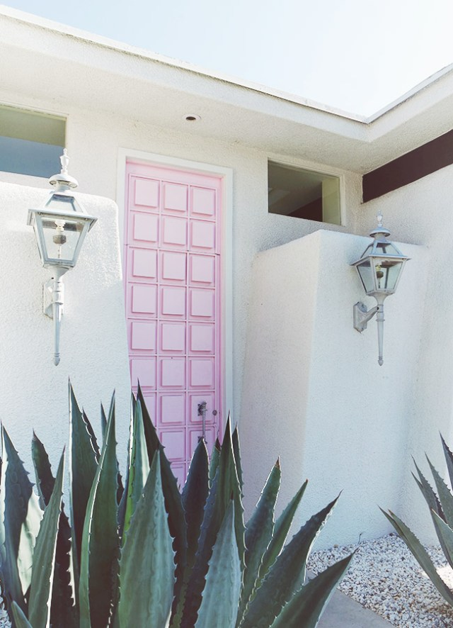 Nubby Twiglet | Out & About #7: The Pink Door In Palm Springs