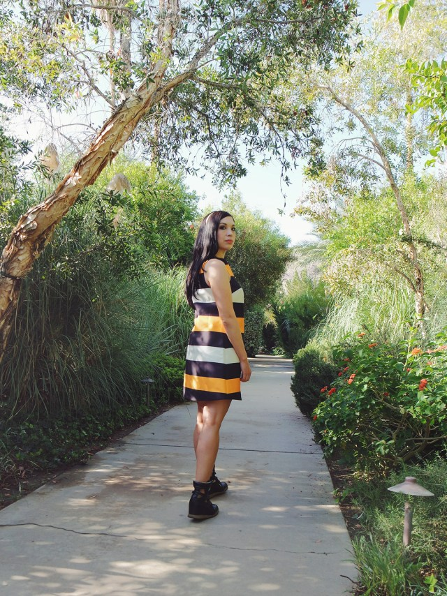 Nubby Twiglet | What I Wore: Citrus and Stripes at The Parker Palm Springs