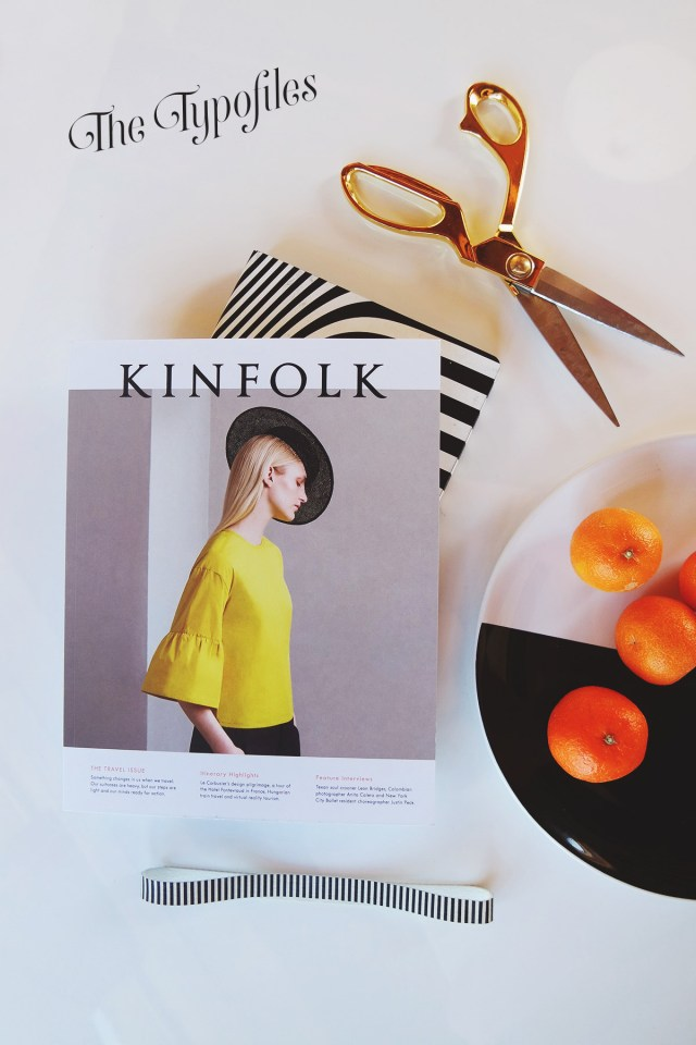 Nubby Twiglet | The Typofiles: Kinfolk