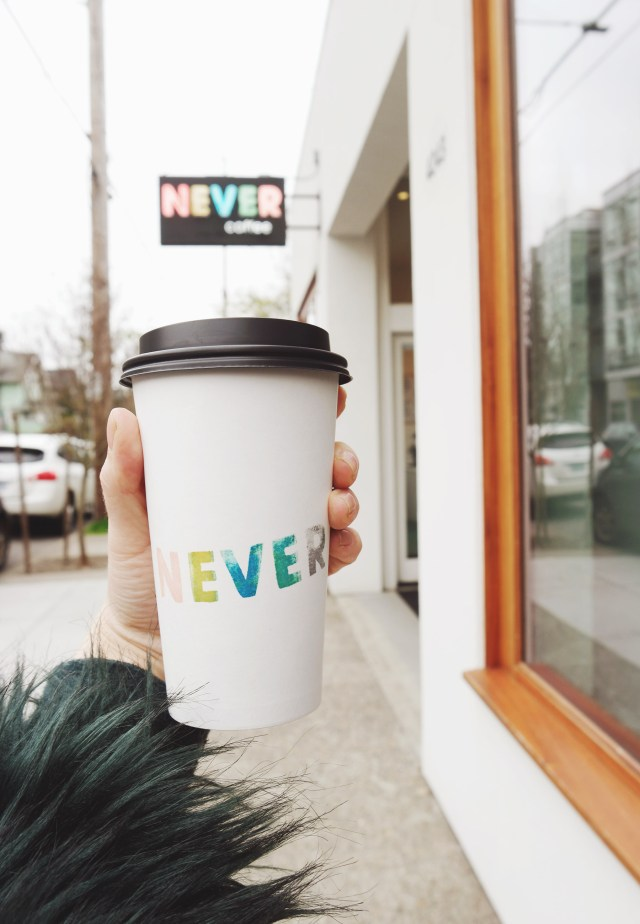 Nubby Twiglet | Out & About: Never Coffee Lab