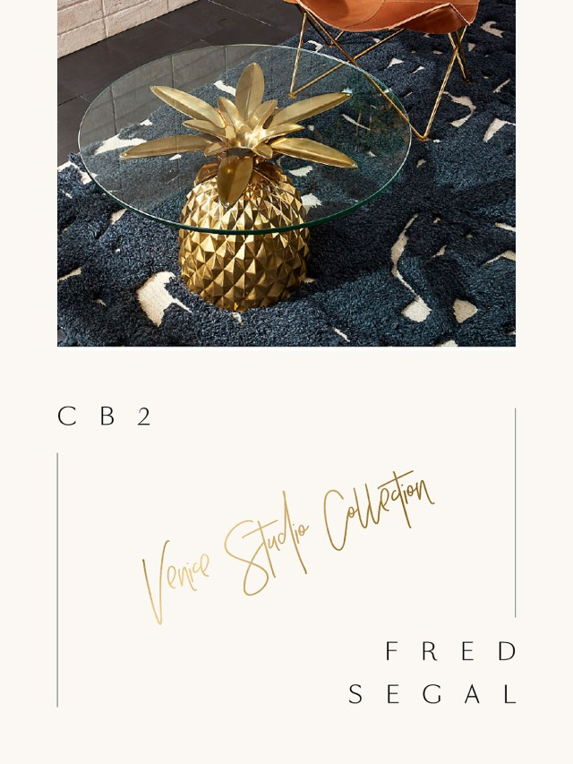 Nubby Twiglet | Fred Segal x CB2 Collab