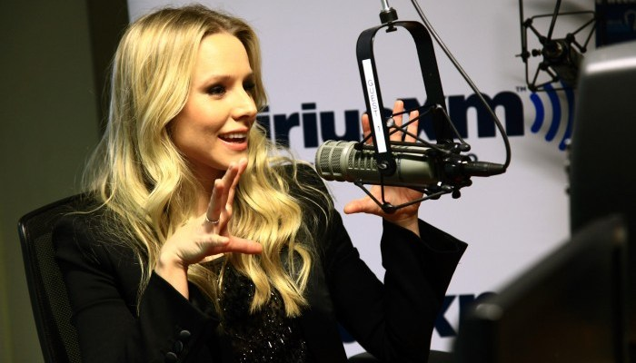 "Kristen Bell at Sirius XM on the ""Mark Says Hi!"" Show"