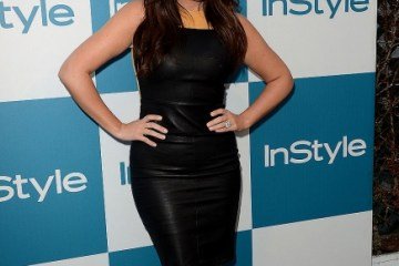 Khloe Kardashian wears a sleeveless leather dress to attend the 11th annual InStyle summer soiree held at The London Hotel on August 8, 2012 in West Hollywood