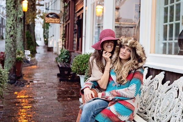 shopping in winter on nantucket