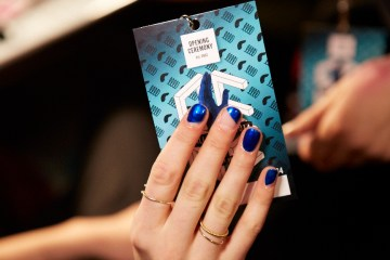fall nail colors 2014 - opening ceremoney blue