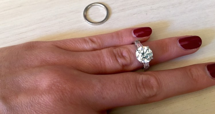 how to clean your engagement ring - bling brush (1)