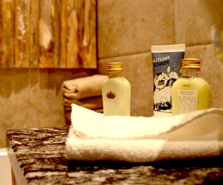 Überall Liebe zum Details - auch beim hoteleigenen Kindershampoo. © Nina-Carissima Schönrock