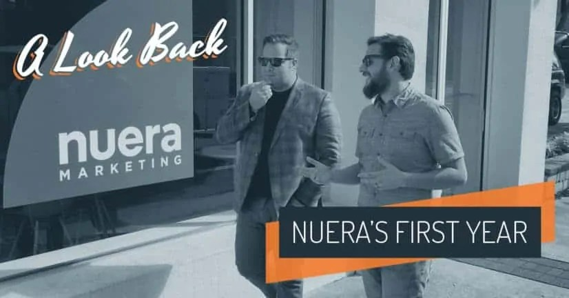 Thank You For A Great First Year Nuera Marketing