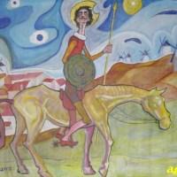 22-04-15 Taller para niños: las aventuras de Don Quijote de la Mancha- Instituto Cervantes de Utrecht.