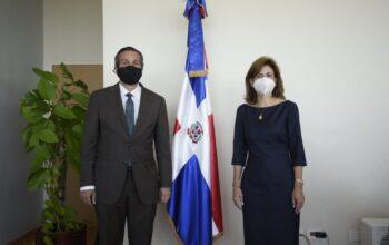 La vicepresidenta visita al ministro de Medio Ambiente