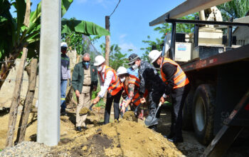 Edenorte inicia rehabilitación de redes Las Charcas