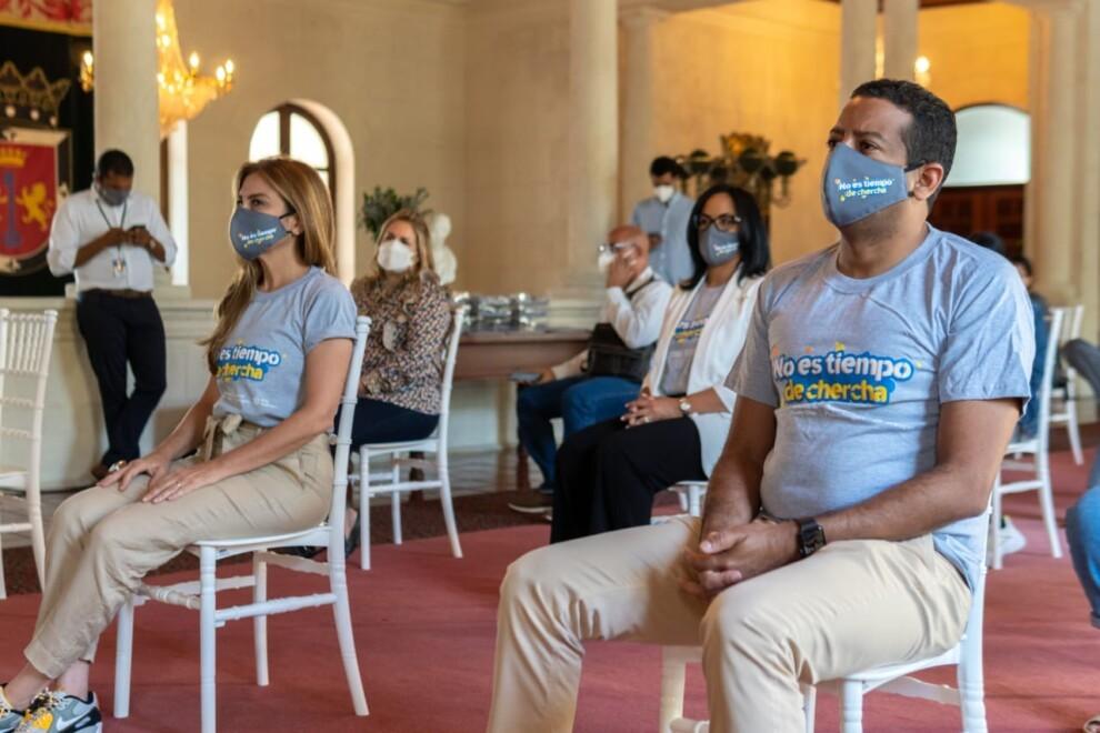 """ADN lanza campaña """"No es tiempo de chercha"""""""