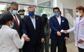 Abinader encabeza inauguración de nuevo y moderno Auditorio Policía Nacional