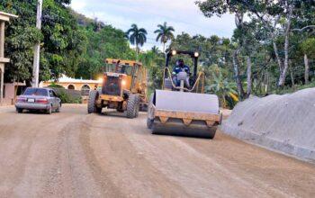 MOPC inicia reconstrucción de carretera de comunidades Cordillera Septentrional