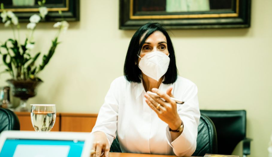 Primera Dama asegura Ministerio de la Mujer está a cargo de caso de mujer que denunció padre de su hijo