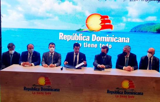 Oficializan sociedad de RD con IFEMA para Fitur 2022; en octubre harán reunión en Santo Domingo
