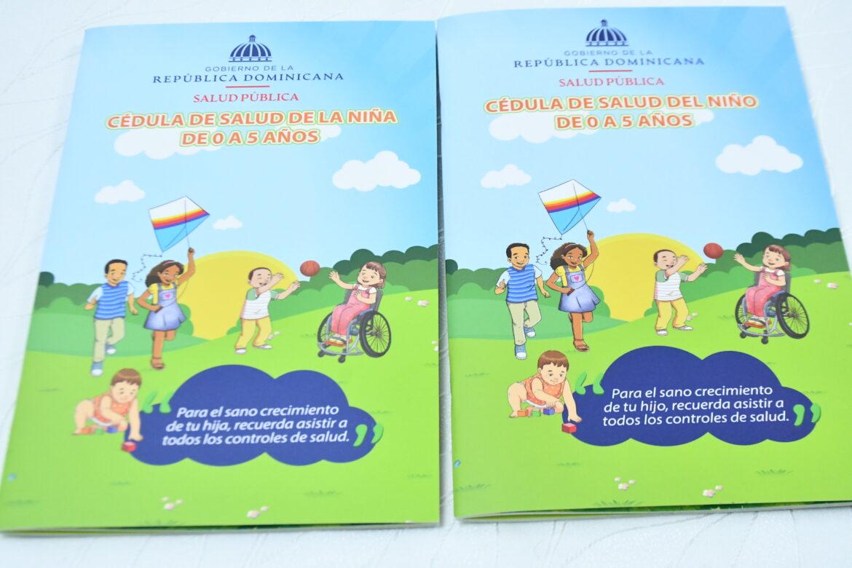 Ministerio de Salud entrega 39 mil cédulas de salud del Niño y la Niña de 0 a 5 años al SNS