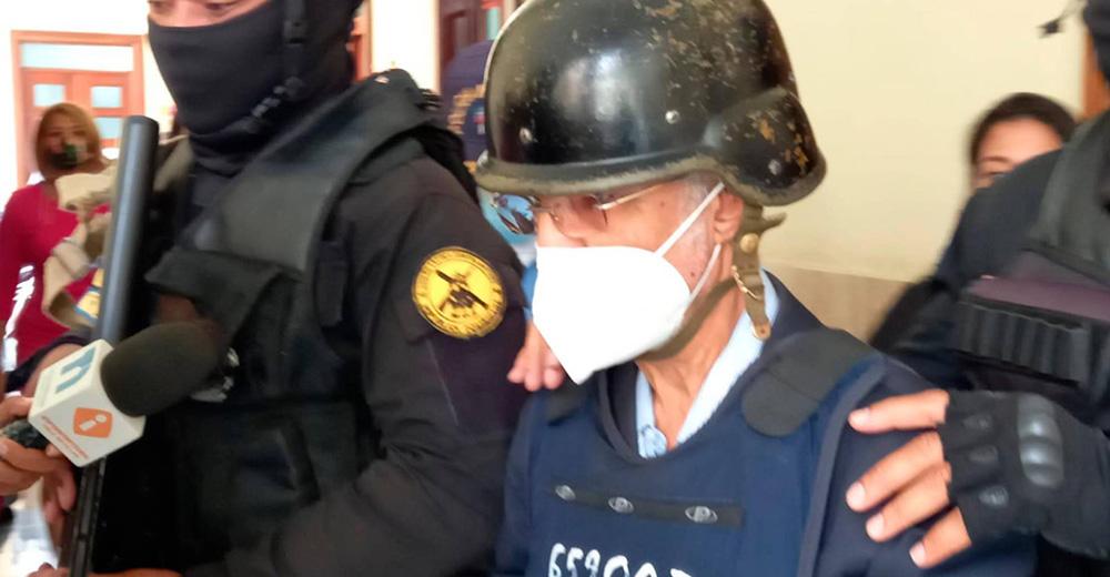 Mantienen prisión preventiva a ex fiscalizador de OISOE