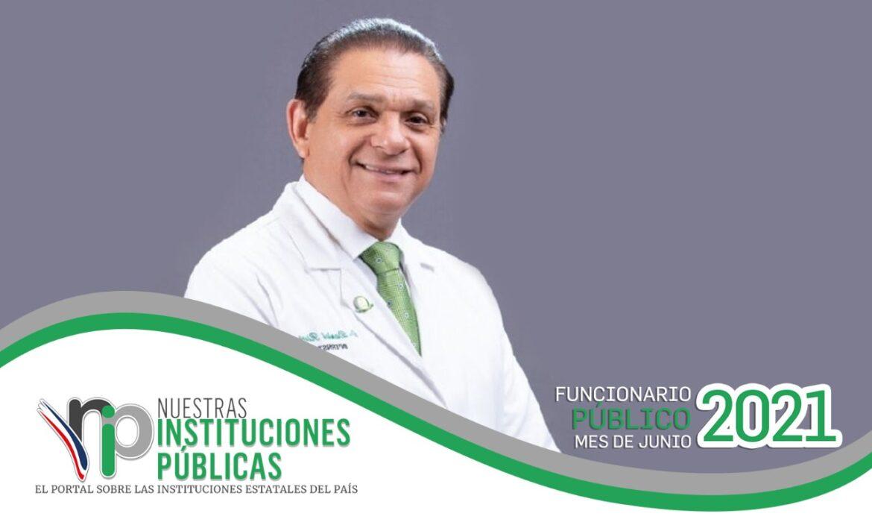 El ministro de Salud Pública, Daniel Rivera es el funcionario público del mes de junio