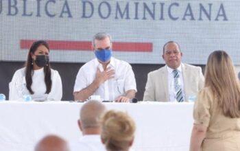 Luis Abinader anuncia el plan de desarrollo para Sánchez Ramírez