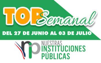 Top Semanal del 27 de junio al 3 de julio