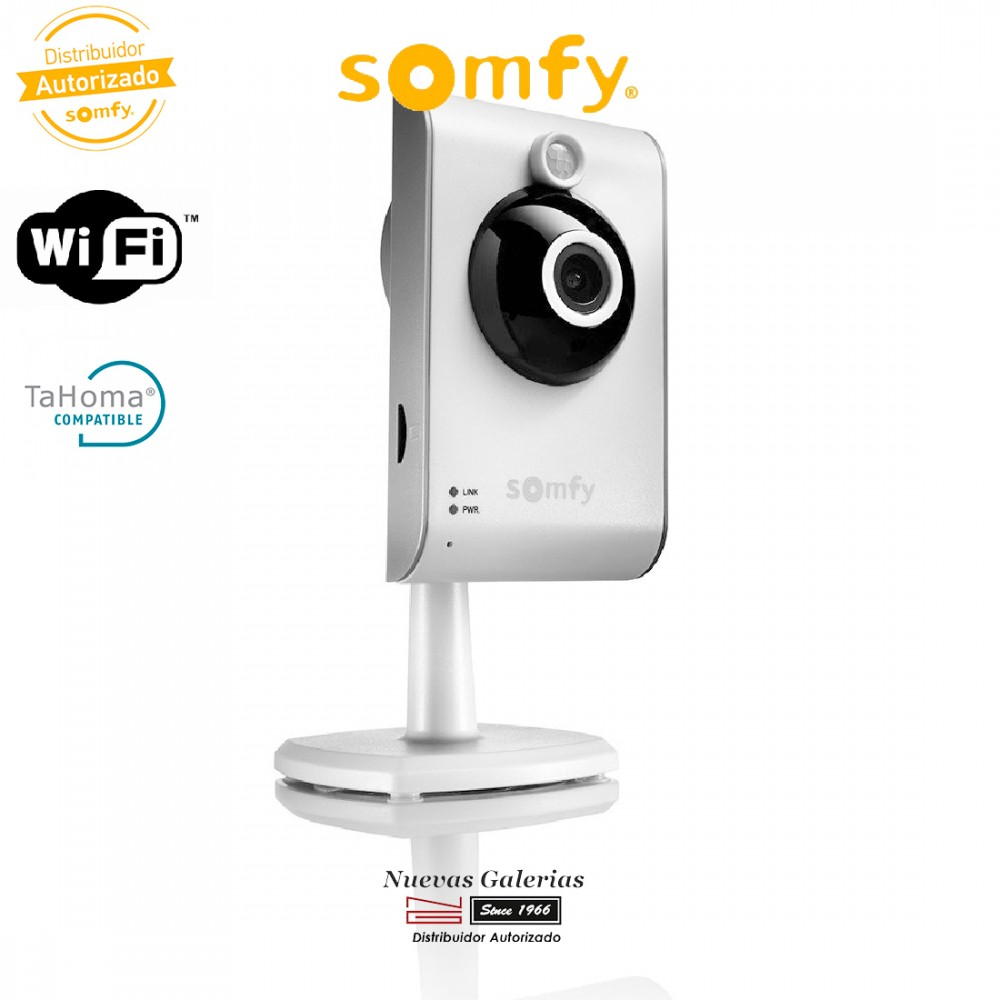 Camera Exterieur Compatible Tahoma Visidom Ic100 Caméra Intérieure Ip Hd Wifi 2401291 Somfy Nue