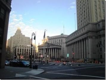 Edificios de la Corte de Nueva York - Foto GGF