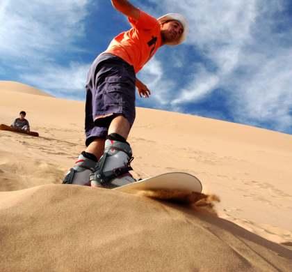 Sandboard: el desconocido deporte que increíblemente puede practicarse en Huasco.
