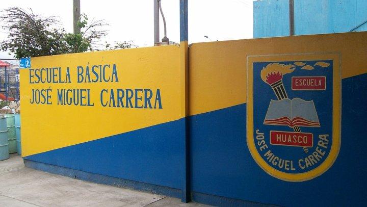 Escuela Jose Miguel Carrera será local de votación en las elecciones de este domingo.