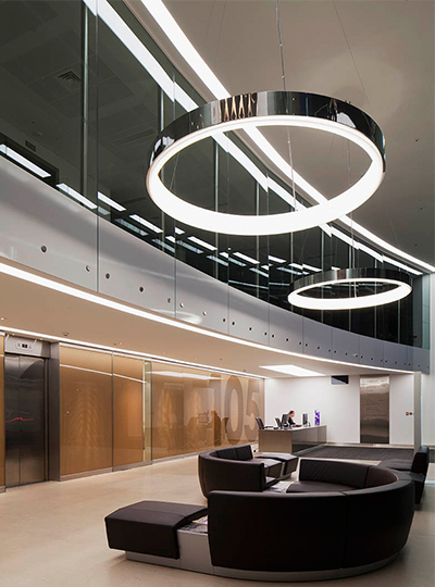 Y Lighting 105 Wigmore Street | Nulty | Lighting Design Consultants