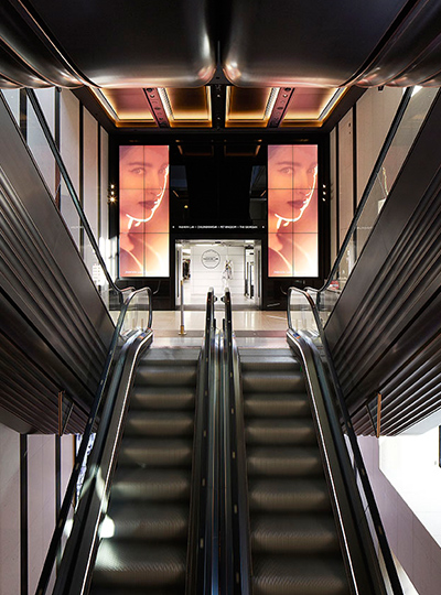 "Y Lighting Harrods ""escalator 3"" 