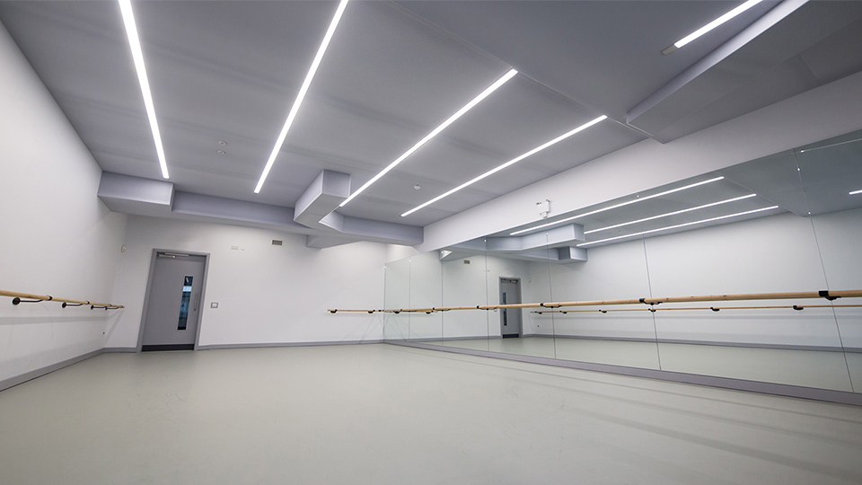 Y Lighting Urdang Performing Arts Academy | Nulty | Lighting Design