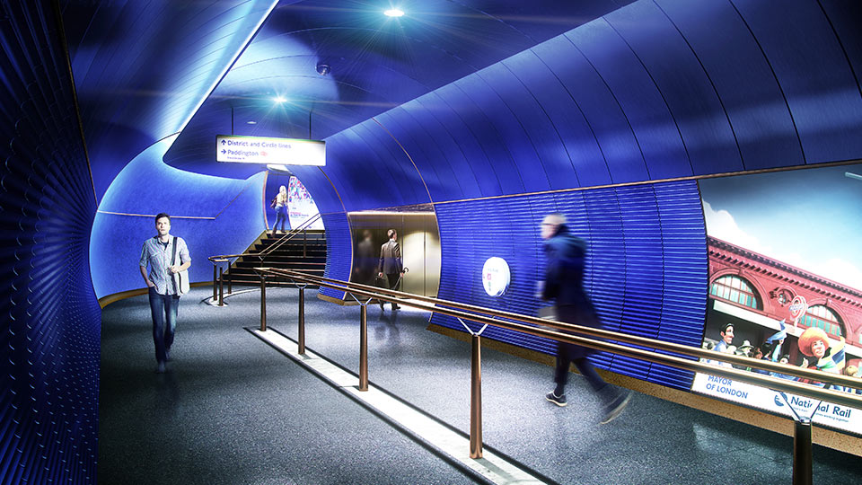 Y Lighting London Underground Station Design Idiom | Nulty | Lighting