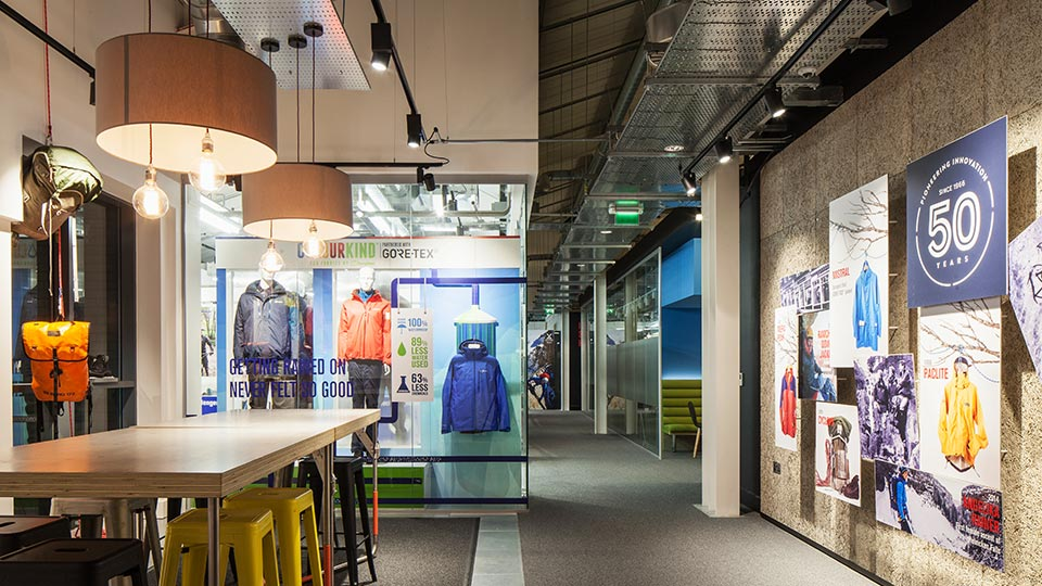 Y Lighting Berghaus Head Office | Nulty | Lighting Design Consultants