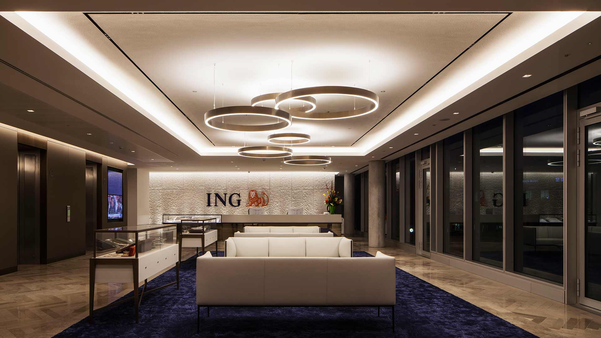Y Lighting Ing Bank Uk Headquarters | Nulty | Lighting Design Consultants