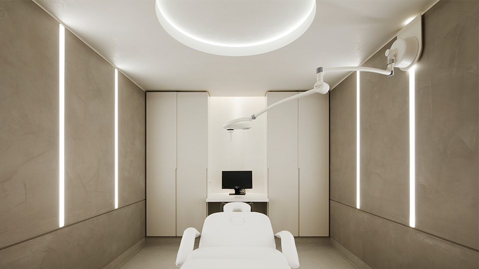 Y Lighting The Wellness Clinic, Harrods | Nulty | Lighting Design