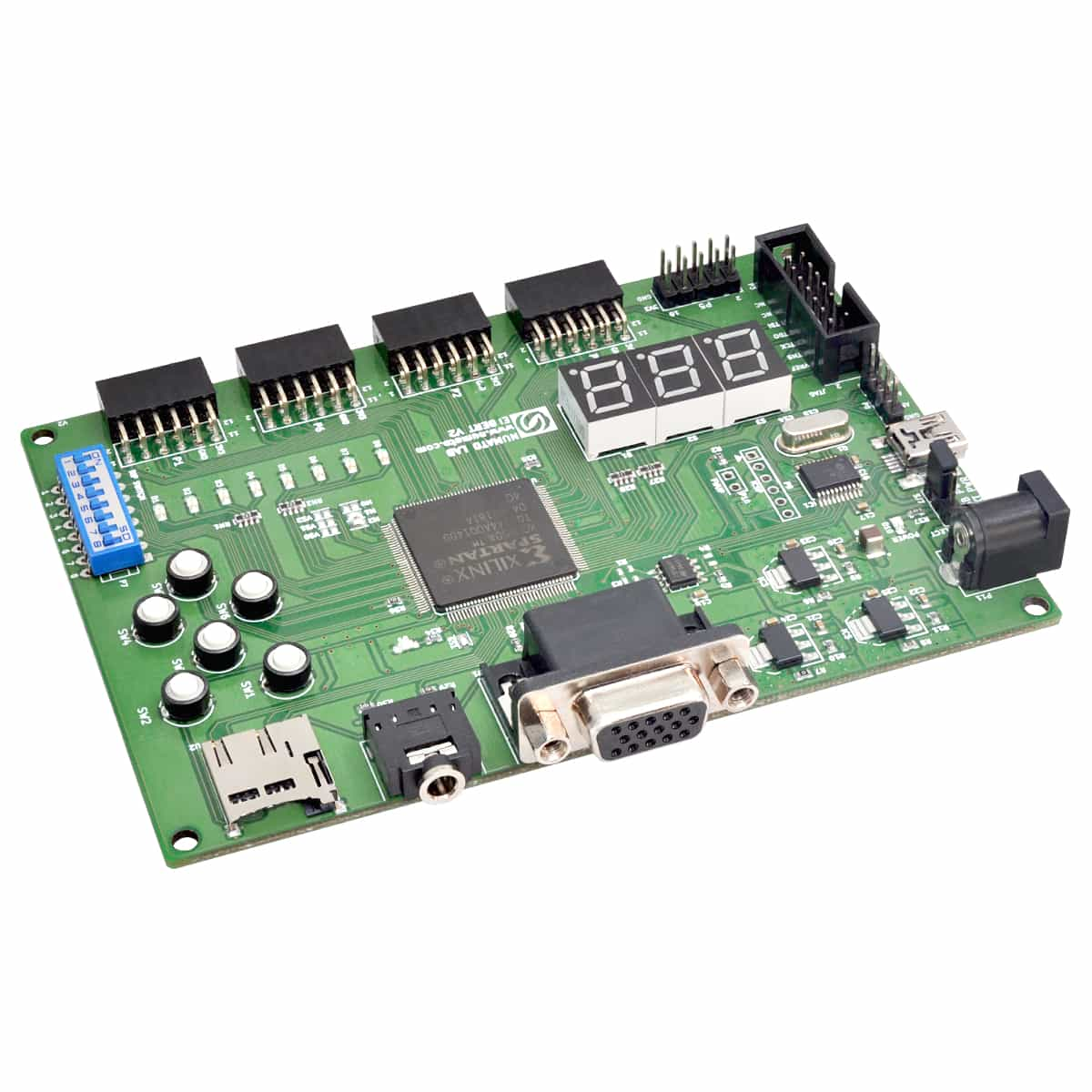 System Verilog Adapter Elbert V2 Spartan 3a Fpga Development Board