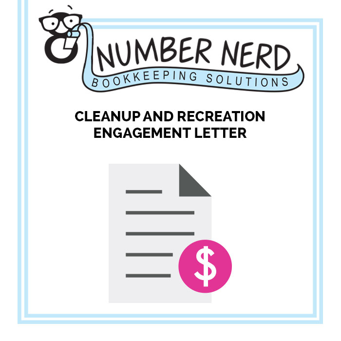 Cleanup  Recreation Engagement Letter New Client Products - engagement letter