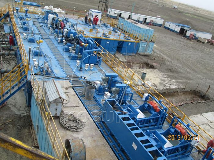 The function of mud recycling tank in solids control system High