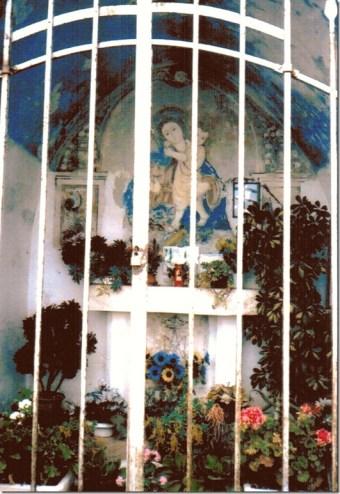 Outdoor chapel Locorotondo